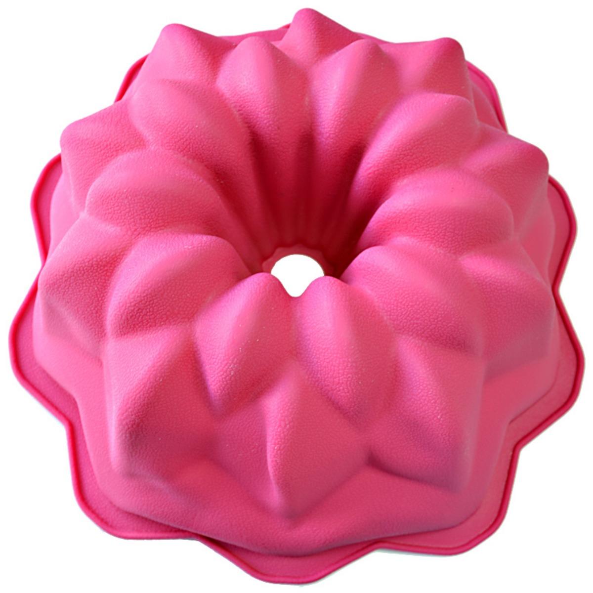 """Форма для выпечки """"Marvel"""", цвет: розовый, диаметр 27 см 4123"""