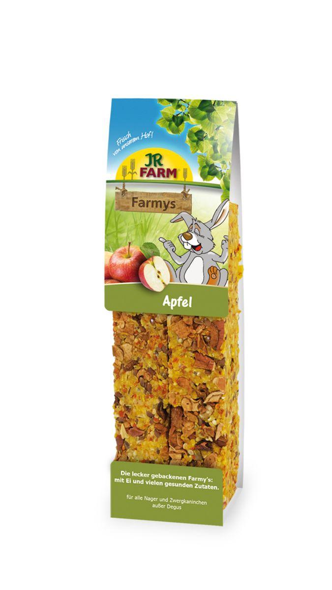 Лакомство для грызунов JR Farm Палочки, с яблоком, 160 г25596Лакомство для грызунов JR Farm Палочки с яйцом, яблоком и множеством полезных для здоровья ингредиентов. Дополнительный корм для грызунов. Состав: злаки, семена, овощи, фрукты (яблоки 10%), орехи, яйцо и продукты яйца, побочные продукты растительного происхождения. Содержание: белок 13,9%, жиры 15,5%, клетчатка 7,6%, зола 2,1%, крахмал 1%. Товар сертифицирован.