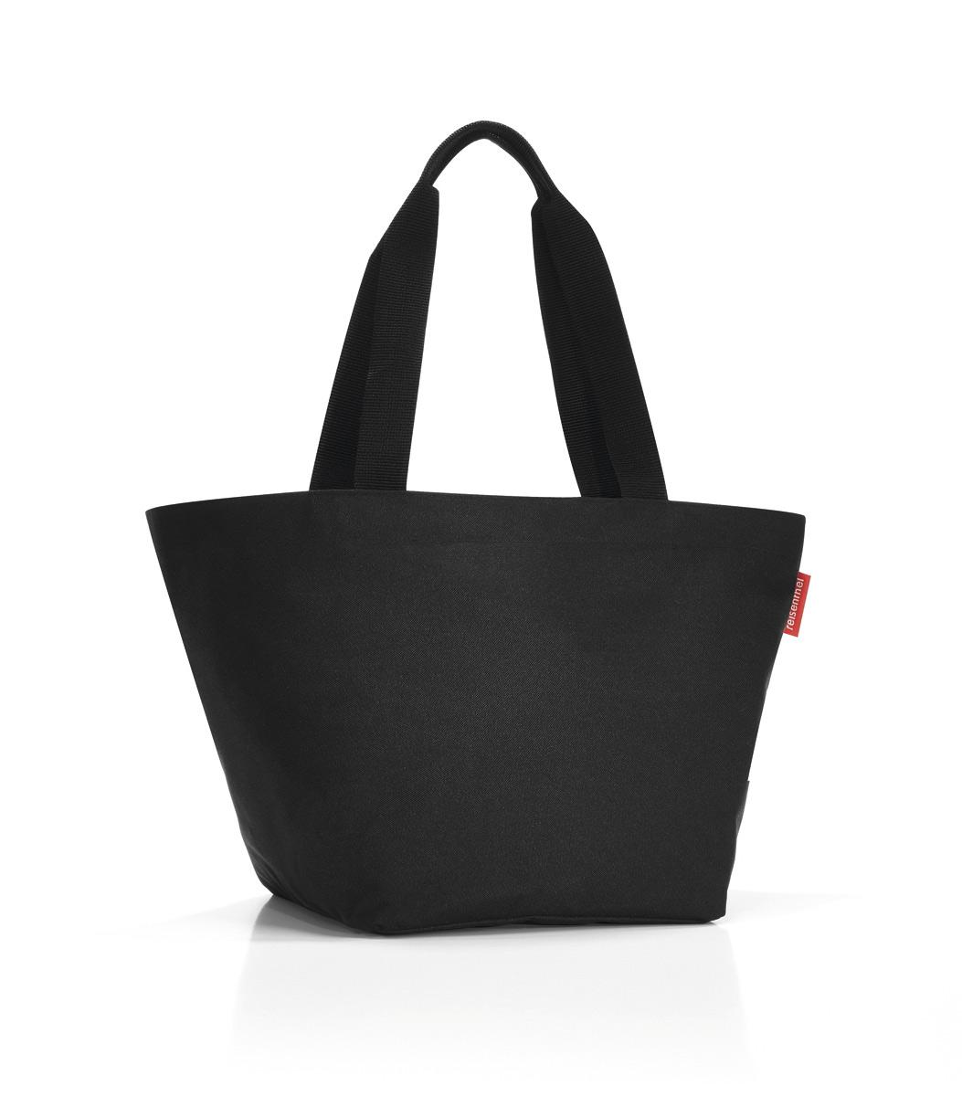 Сумка Reisenthel, цвет: черный. ZS7003ZS7003Отличная сумка для похода за продуктами: широкие удобные лямки распределяют нагрузку на плече, а объем 15 литров позволяет вместить всё самое нужное. Застегивается на молнию. Внутри - кармашек на молнии для мелочей. Специальное уплотненное днище для надежности.