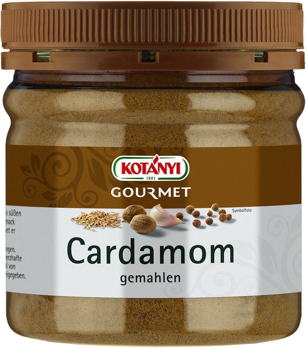 Kotanyi Кардамон молотый, 159 г742701Кардамон обладает ярким вкусом и ароматом, напоминающим эвкалипт. Кардaмон Kotanyi придаст вашим блюдам пикантную восточную нотку. Он подходит для мясных блюд, а также для сладких блюд и выпечки, приготовления глинтвейна, кофе, чая и других горячих напитков. Может содержать следы глютеносодержащих злаков, яиц, сои, сельдерея, кунжута, орехов, молока (лактозы), горчицы. Хранить плотно закрытым в сухом месте.