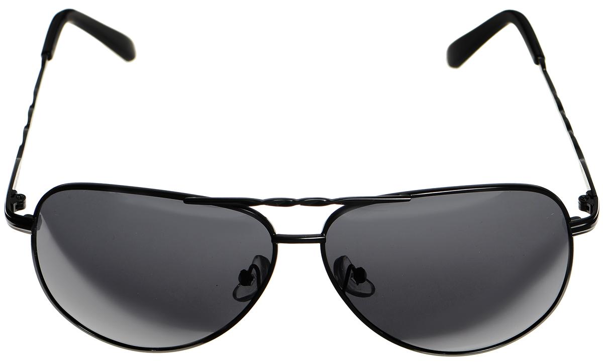 Очки солнцезащитные женские Selena, цвет: черный. 80032981ST-75GСолнцезащитные женские очки Selena выполнены из высококачественного пластика. Дужки оформлены декоративными рисунком.Линзы данных очков с высокоэффективным фильтром UV-400 Protection обеспечивают полную защиту от ультрафиолетовых лучей. Используемый пластик не искажает изображение, не подвержен нагреванию и вредному воздействию солнечных лучей.Такие очки защитят глаза от ультрафиолетовых лучей, подчеркнут вашу индивидуальность и сделают ваш образ завершенным.