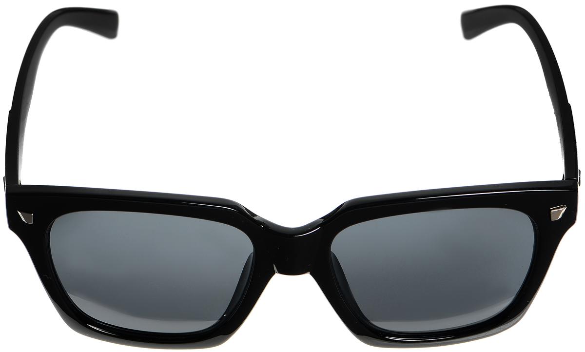 Очки солнцезащитные женские Selena, цвет: черный. 8003343180033431Солнцезащитные женские очки Selena выполнены из высококачественного пластика. Дужки оформлены декоративными металлическими вставками. Линзы данных очков с высокоэффективным фильтром UV-400 Protection обеспечивают полную защиту от ультрафиолетовых лучей. Используемый пластик не искажает изображение, не подвержен нагреванию и вредному воздействию солнечных лучей. Такие очки защитят глаза от ультрафиолетовых лучей, подчеркнут вашу индивидуальность и сделают ваш образ завершенным.