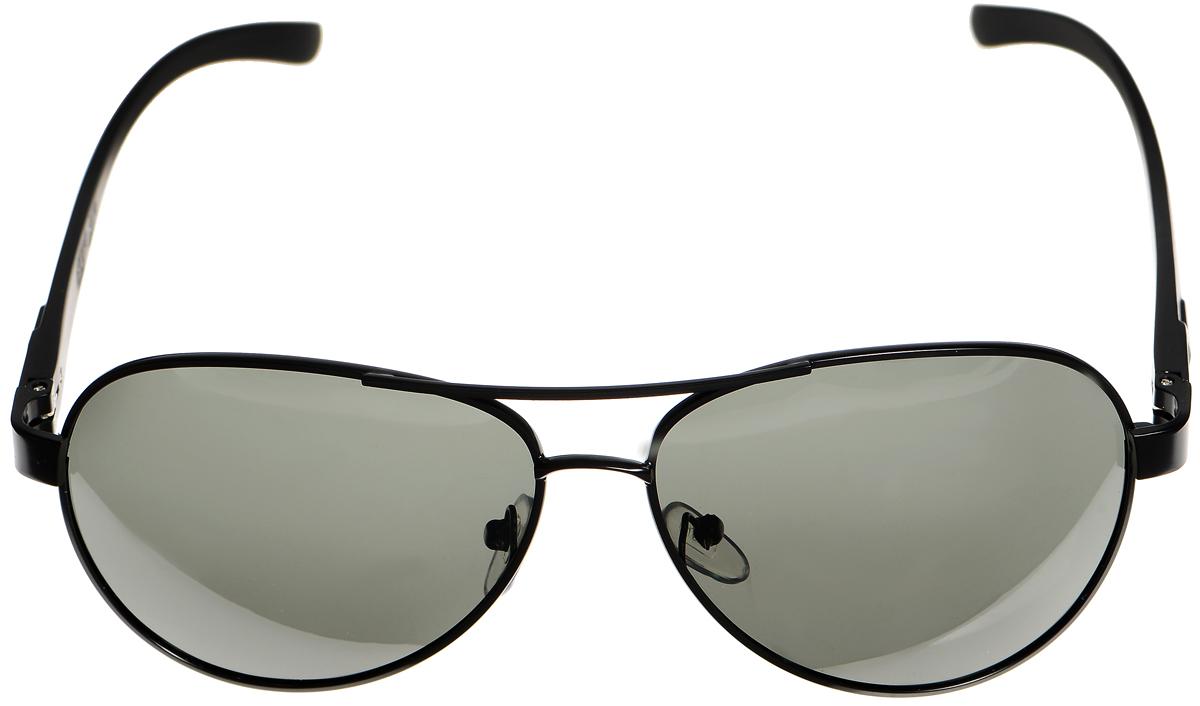 Очки солнцезащитные женские Selena, цвет: зеленый, темно-серый. 80033071T-8V-KMСолнцезащитные женские очки Selena выполнены из металла с элементами из высококачественного пластика. Мостик дополнен рифленой поверхностью.Линзы данных очков с высокоэффективным фильтром UV-400 Protection обеспечивают полную защиту от ультрафиолетовых лучей. Используемый пластик не искажает изображение, не подвержен нагреванию и вредному воздействию солнечных лучей.Такие очки защитят глаза от ультрафиолетовых лучей, подчеркнут вашу индивидуальность и сделают ваш образ завершенным.