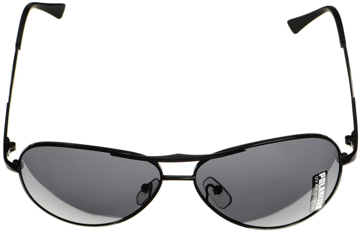 Очки солнцезащитные женские Selena, цвет: черный. 80033011T-8I-BRСолнцезащитные женские очки Selena выполнены из металла с элементами из высококачественного пластика. Дужки оформлены оригинальной резьбой.Линзы данных очков с высокоэффективным фильтром UV-400 Protection обеспечивают полную защиту от ультрафиолетовых лучей. Используемый пластик не искажает изображение, не подвержен нагреванию и вредному воздействию солнечных лучей.Такие очки защитят глаза от ультрафиолетовых лучей, подчеркнут вашу индивидуальность и сделают ваш образ завершенным.