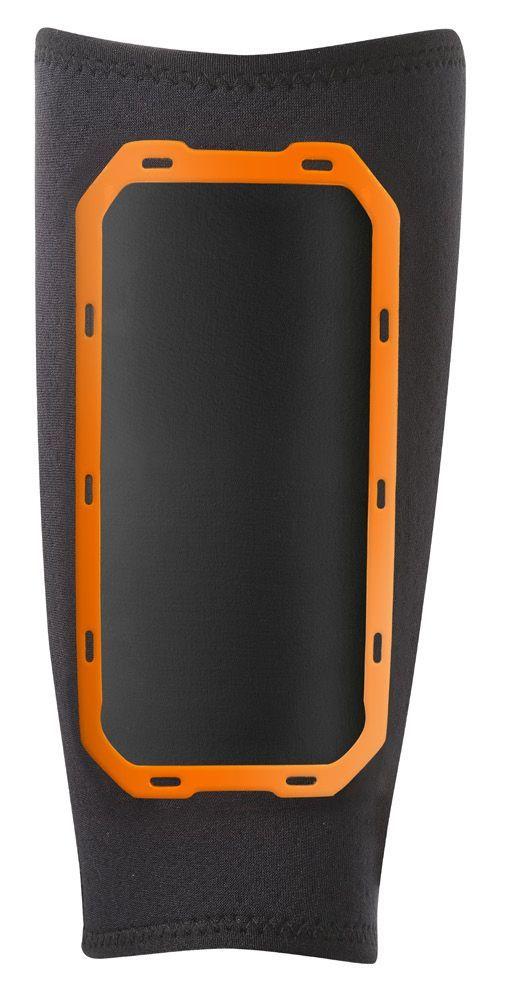 Нарукавник Nike для занятий спортом, цвет: черный, оранжевый. Размер L/XL