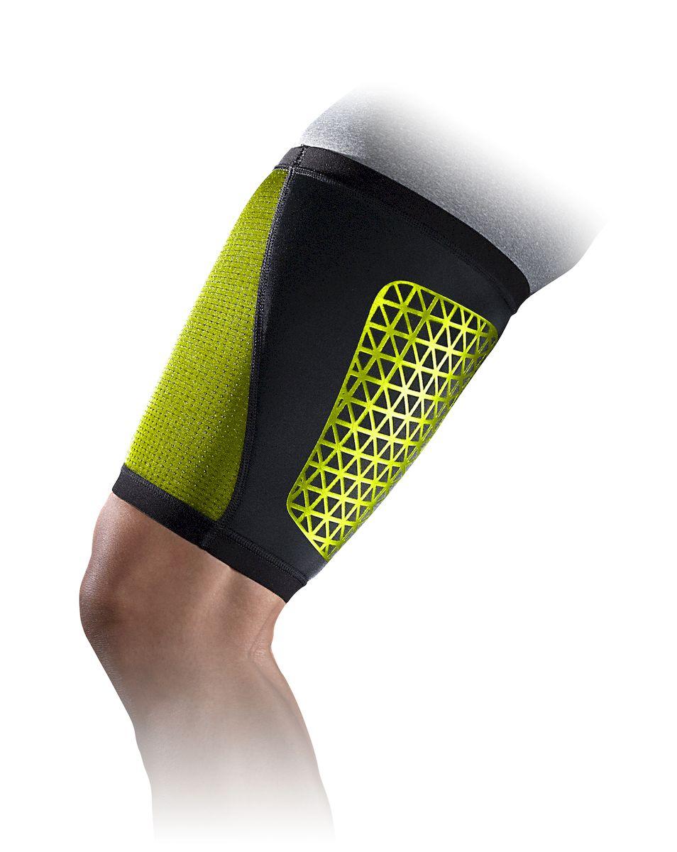Набедренник Nike, цвет: черный, желтый. Размер LN.MS.34.023.LGНабедренник Nike. Легкий материал Airprene держит мышцы в тепле, что обеспечивает дополнительную поддержку и защищает от растяжений. Высокая степень регуляции воздуза и тепла. Контурный дизайн и конструкция обеспечивает свободу движений. Износостойкий.
