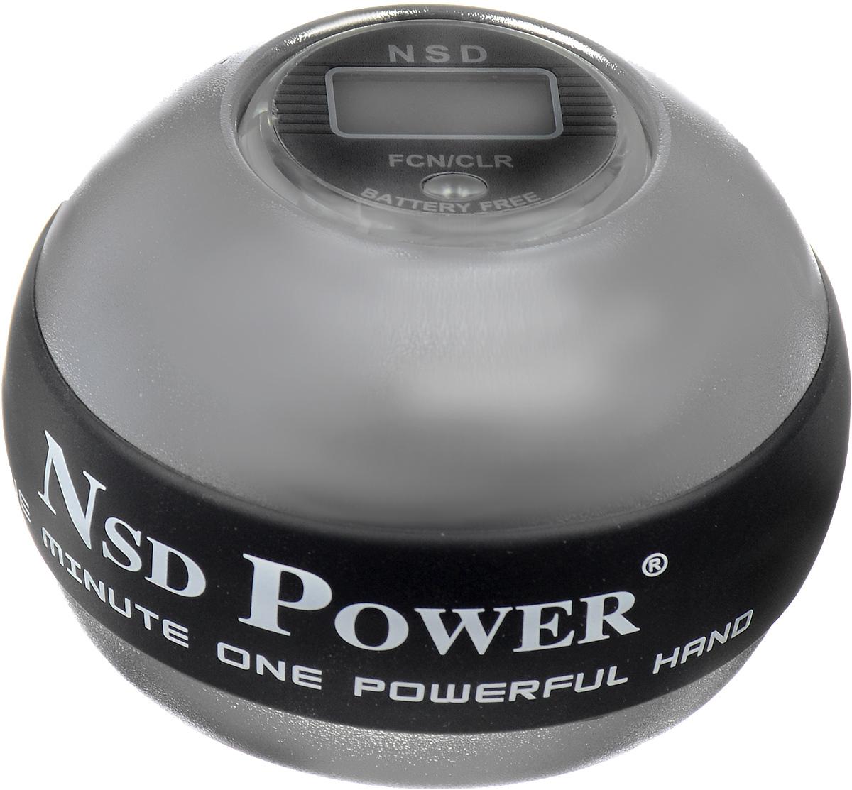 Тренажер кистевой NSD Power 888 Metal Titan. PB-888C SILVERPB-888C SILVERТренажер кистевой NSD Power 888 Metal Titan - выполнен из металла, со счетчиком. Один из самых мощных кистевых тренажеров. NSD Power 888 Metal Titan в 2,5 раза тяжелее пластиковых аналогов. Точная балансировка ротора позволяет раскручивать его до 20 тысяч оборотов в минуту, но даже на 10 тысяч оборотов в минуту вы получите сильнейшую нагрузку на кисть. Новинка обладает повышенной прочностью и долгим сроком службы. В комплект входит инструкция и 2 шнурка для раскрутки. Диаметр тренажера: 6 см.