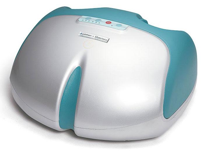 Массажер для ног Phiten Solarch. BE6360001301092SМассажер для ног Phiten восстанавливает организм по японскому методу Шиацу. Массажер эффективно борется с напряжением в ногах и усталостью, нормализуя артериальное давление, повышая иммунитет и улучшая работу ЦНС.Применяя массажер для ног Phiten, вы активируете целебные свойства организма, проводите лечение и восстановление нервной, эндокринной и такой уязвимой сердечно-сосудистой системы. При помощи Phiten вы сможете избавиться от плоскостопия на момент начала болезни или облегчить состояние больного на поздних стадиях.Благодаря способности расслаблять нервную систему этот массажер способен вылечить бессонницу и сделать сон здоровым и крепким. Phiten с легкостью избавит вас от отечности и усталости в ногах, принося только приятные ощущения и крепкое здоровье. Рекомендации для применения массажера Phiten имеют достаточно широкий спектр заболеваний, причем данная методика имеет мало противопоказаний и не дает побочных реакций.Название массажера скомбинировано из слов СТОПА и СВОД и олицетворяет здоровье стопы. Всю стопу массируют 10 воздушных подушек и платформа в основании стопы. Повторяется точная техника массажа пальцами. Сложные движения воспроизводят массаж, очень похожий на человеческие руки.Подходит для стоп размером от 35 до 47.