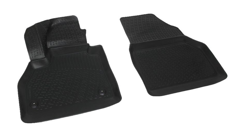 Коврики в салон автомобиля L.Locker, для Renault Kangoo (08-), передние0206050401Коврики L.Locker производятся индивидуально для каждой модели автомобиля из современного и экологически чистого материала. Изделия точно повторяют геометрию пола автомобиля, имеют высокий борт, обладают повышенной износоустойчивостью, антискользящими свойствами, лишены резкого запаха и сохраняют свои потребительские свойства в широком диапазоне температур (от -50°С до +80°С). Рисунок ковриков специально спроектирован для уменьшения скольжения ног водителя и имеет достаточную глубину, препятствующую свободному перемещению жидкости и грязи на поверхности. Одновременно с этим рисунок не создает дискомфорта при вождении автомобиля. Водительский ковер с предустановленными креплениями фиксируется на штатные места в полу салона автомобиля. Новая технология системы креплений герметична, не дает влаге и грязи проникать внутрь через крепеж на обшивку пола.