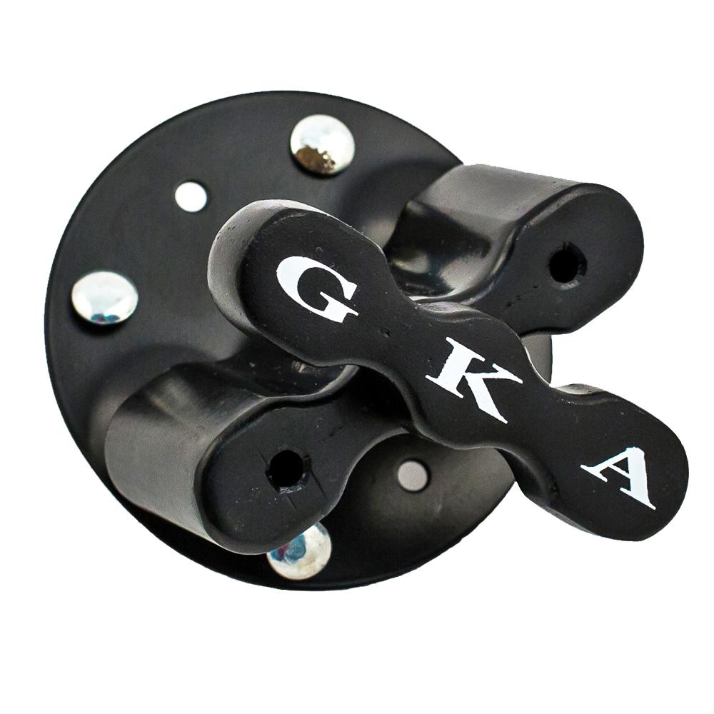 Крепление для канистр GKA BasicGBASGKA basic - подходит для крепежа одной 4/5/10/12/15/20 литровых канистр или двух канистр GKA Сэндтрак. Комплектация - 6 крепежных болтов с гайками, металлическое основание, алюминиевый сердечник, фиксирующее устройство.