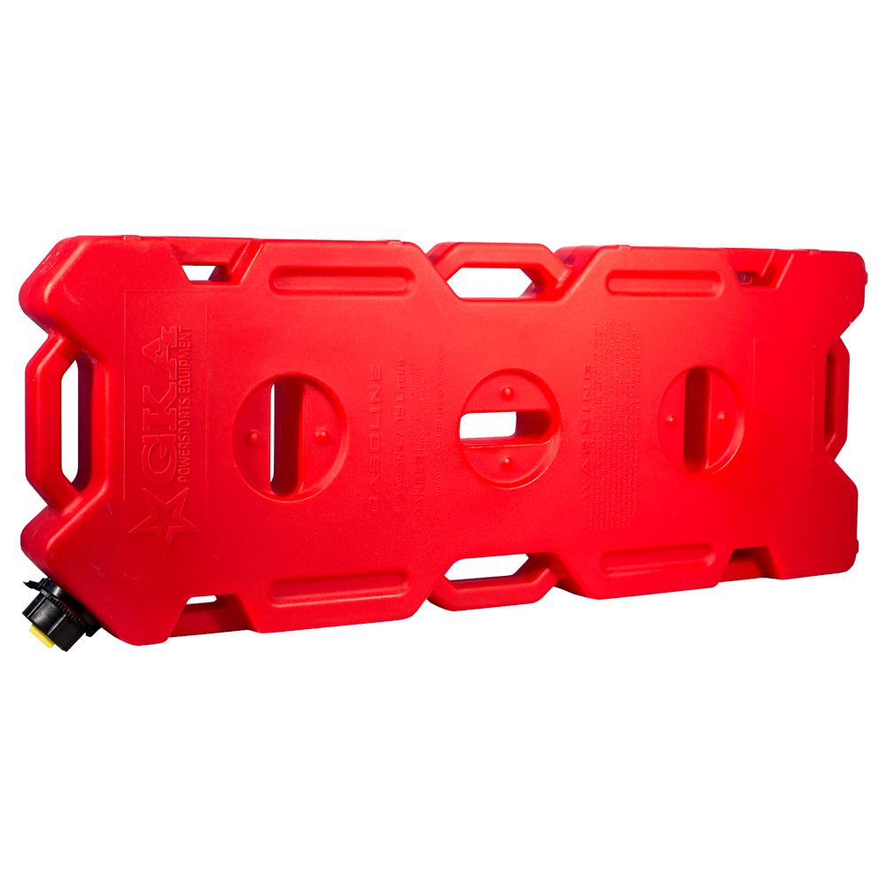 Канистра экспедиционная GKA, цвет: красный, 15 лGKA15RКанистра экспедиционная плоская 15 литров GKA. Изготавливаются из высокопрочных полимеров. Предназначена для любого вида топлива и воды. Укомплектованы гибким носиком для розлива жидкостей. Уплотнитель и антивибрационная система крышки не позволяет жидкости расплескиваться.