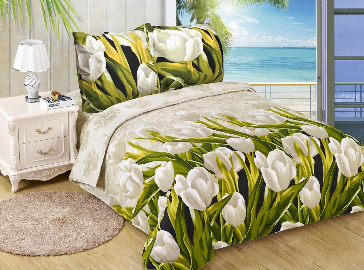 Комплект белья Amore Mio ET Tulpan, 2-спальное. 7008070080Amore Mio – Комфорт и Уют - Каждый день! Amore Mio предлагает оценить соотношению цены и качества коллекции. Разнообразие ярких и современных дизайнов прослужат не один год и всегда будут радовать Вас и Ваших близких сочностью красок и красивым рисунком. Белье Amore Mio – лучший подарок любимым! Поплин – европейский аналог бязи. Это ткань самого простого полотняного плетения с чуть заметным рубчиком, который появляется из-за использования нитей разной толщины. Состоит из 100% натурального хлопка, поэтому хорошо удерживает тепло, впитывает влагу и позволяет телу дышать. На ощупь поплин мягче бязи, но грубее сатина. Благодаря использованию современных методов окраски, не линяет и его можно стирать при температуре до 40°C. Пододеяльник-180*215, Простыня-200*220, наволочки-70*70(2шт)