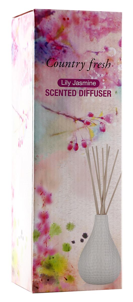 Ароматический диффузор Counrty Fresh Lily Jasmine аромат лилии и жасмина, 150 млNPD15003
