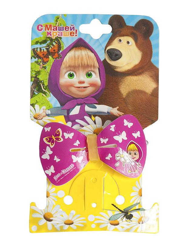 Маша и медведь Заколка Бант Бабочки