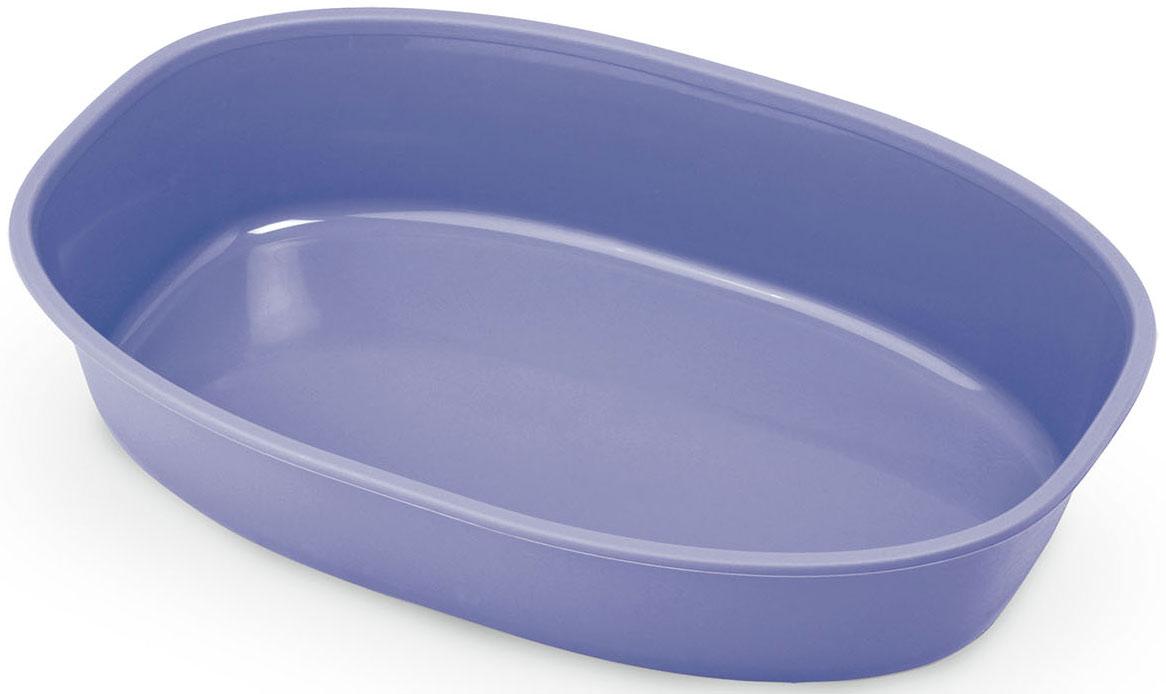 Туалет-лоток MPS Gemini, 28х42х9 см, цвет: лиловыйS08080105Туалет-лоток Gemini - оптимальное решение для содержания кошек и маленьких собак. Качественный пластик лотка не трескается (при аккуратном обращении) и не впитывает посторонних запахов. Лоток хорошо моется. Легкий лоток удобно брать с собой. Размер 28х42х9h см.