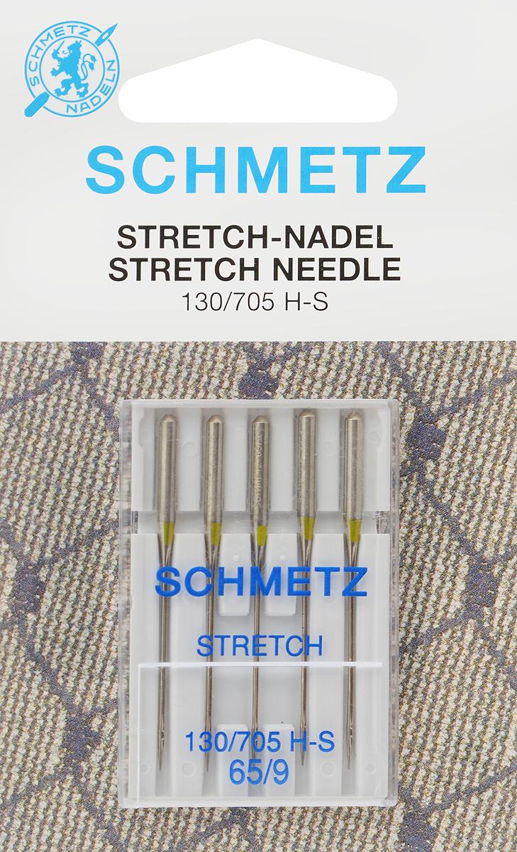 Иглы для бытовых швейных машин Schmetz, для трикотажа, №65, 5 шт22:80.FB2.VJSСпециальные иглы Schmetz, выполненные из никеля, подходят для бытовых швейных машин всех марок. В набор входят иглы, которые идеально подходят для всех трикотажных материалов. Каждая игла имеет цветовой код. В комплекте пластиковый футляр для переноски и хранения. Система игл: 130/705 H-S. Номера игл: 65/9.