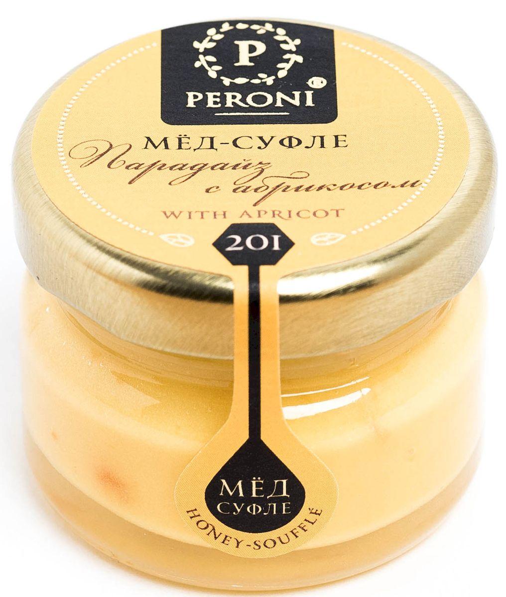 Peroni Парадайз с абрикосом мёд-суфле, 30 г201-1Мёд-суфле с сушеным абрикосом — не только вкуснейшая новинка в медовом мире, но и настоящий помощник здоровью и красоте. Мед солнечного, молочно-абрикосового цвета. Аромат тонкий и выразительный, по характеру цветочно-сливочно-фруктовый. Основная нота принадлежит свежему абрикосу, фруктовому йогурту. В нежном медовом суфле встречаются маленькие кусочки кураги, которые создают абрикосовые акценты. Вкусовые характеристики меда и абрикоса проявляются комплексно, они близки и идеально дополняют друг друга, создавая гармонию. Вкус меда чрезвычайно динамичен: сливочная атака сменяется интенсивной цветочно-фруктовой волной, оставляя в завершение пряно-абрикосовый акцент. В целом вкус мёда-суфле освежающий и бодрящий. Обволакивающая сладость меда уравновешивается бодрящей фруктовой свежестью. Создается ощущение легкости и прохлады. Для получения меда-суфле используются специальные технологии. Мёд долго вымешивается при определенной скорости, после чего его...