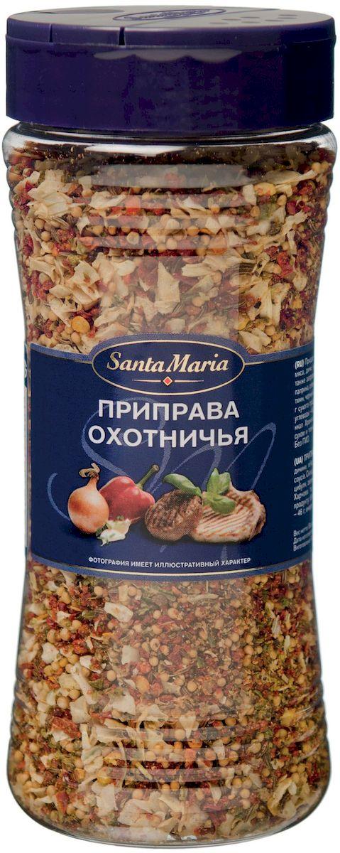 Santa Maria Приправа охотничья, 190 г17160Ароматная смесь для приготовления блюд из дичи, мяса, курицы, рыбы и овощей. Придает блюду нежный аромат тмина и паприки, а также аппетитный внешний вид.