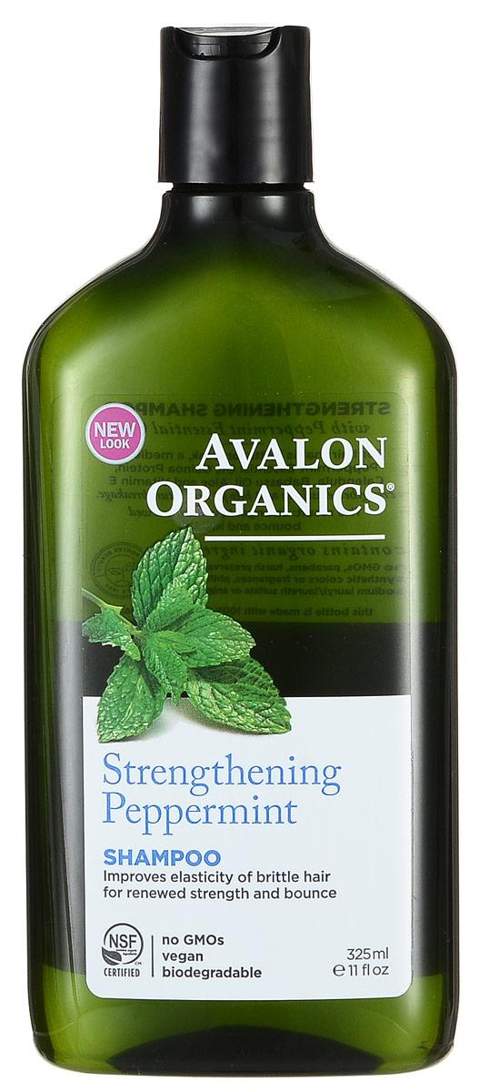 Avalon Organics Укрепляющий шампунь Мята, 325 млAV35108Сбалансированность моющей формулы растительного происхождения обеспечивает оптимальное очищение, с восстановлением гидро-липидного баланса и укреплением структуры волос. Сертифицированный органический комплекс масел и экстрактов активизирует микроциркуляцию и обменные процессы, укрепляет фолликулы, способствует уменьшению выпадения волос и активному росту новых. Характеристики: Объем: 325 мл. Артикул: AV35108. Производитель: США. Товар сертифицирован.
