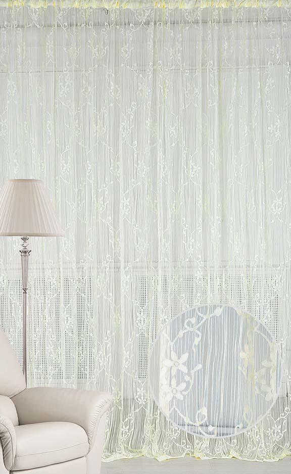 Штора нитяная Magnolia Кисея, цвет: экрю, высота 250 см. CQ M 90008(203)68585Декоративная нитяная штора для дизайнерских решений в вашем доме. Подходит как для зонирования пространства, а так же декорации окна, как самостоятельное решение или дополнение к шторам.