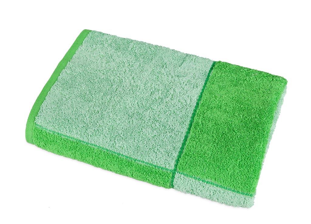 Полотенце Soavita Premium Азия, 65х135 см, цвет: зеленый87417Перед использованием постирать при температуре не выше 40 градусов