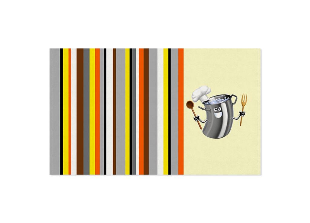 Полотенце кухонное Soavita Кастрюля, 30 х 50 см80653Кухонное полотенце Soavita Кастрюля выполнено из 100% хлопка и оформлено оригинальным рисунком. Оно отлично впитывает влагу, быстро сохнет, сохраняет яркость цвета и не теряет форму даже после многократных стирок. Изделие предназначено для использования на кухне и в столовой.Такое полотенце станет отличным вариантом для практичной и современной хозяйки.