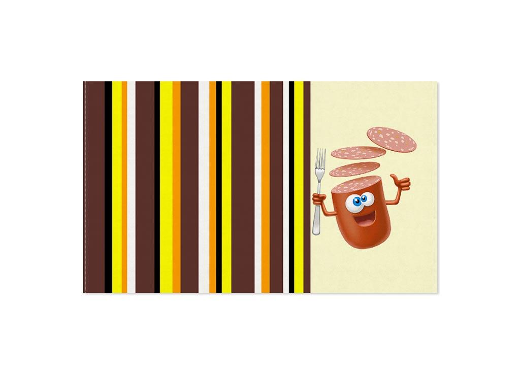 Полотенце кухонное Soavita Колбаса, 30 х 50 смVT-1520(SR)Кухонное полотенце Soavita Колбаса, выполненное из 100% хлопка, оформлено оригинальным рисунком. Изделие предназначено для использования на кухне и в столовой.Такое полотенце станет отличным вариантом для практичной и современной хозяйки.Рекомендуется стирка при температуре 40°C.