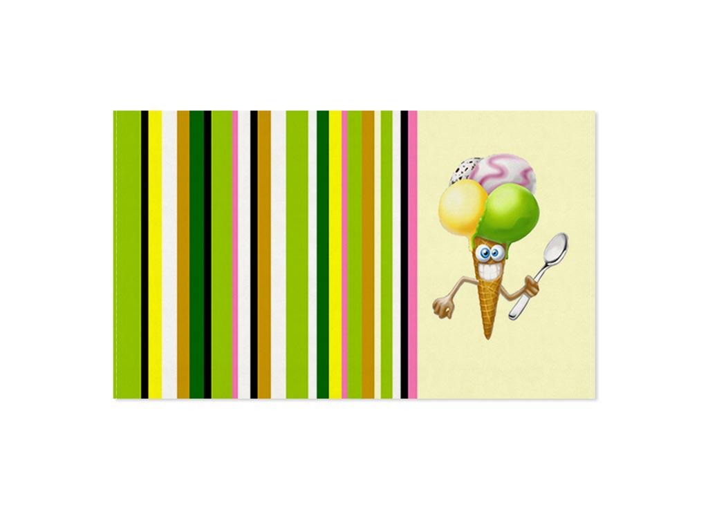 Полотенце кухонное Soavita Мороженное, 30 х 50 см87471Кухонное полотенце Soavita Мороженное выполнено из 100% хлопка и оформлено оригинальным рисунком. Оно отлично впитывает влагу, быстро сохнет, сохраняет яркость цвета и не теряет форму даже после многократных стирок. Изделие предназначено для использования на кухне и в столовой. Такое полотенце станет отличным вариантом для практичной и современной хозяйки.