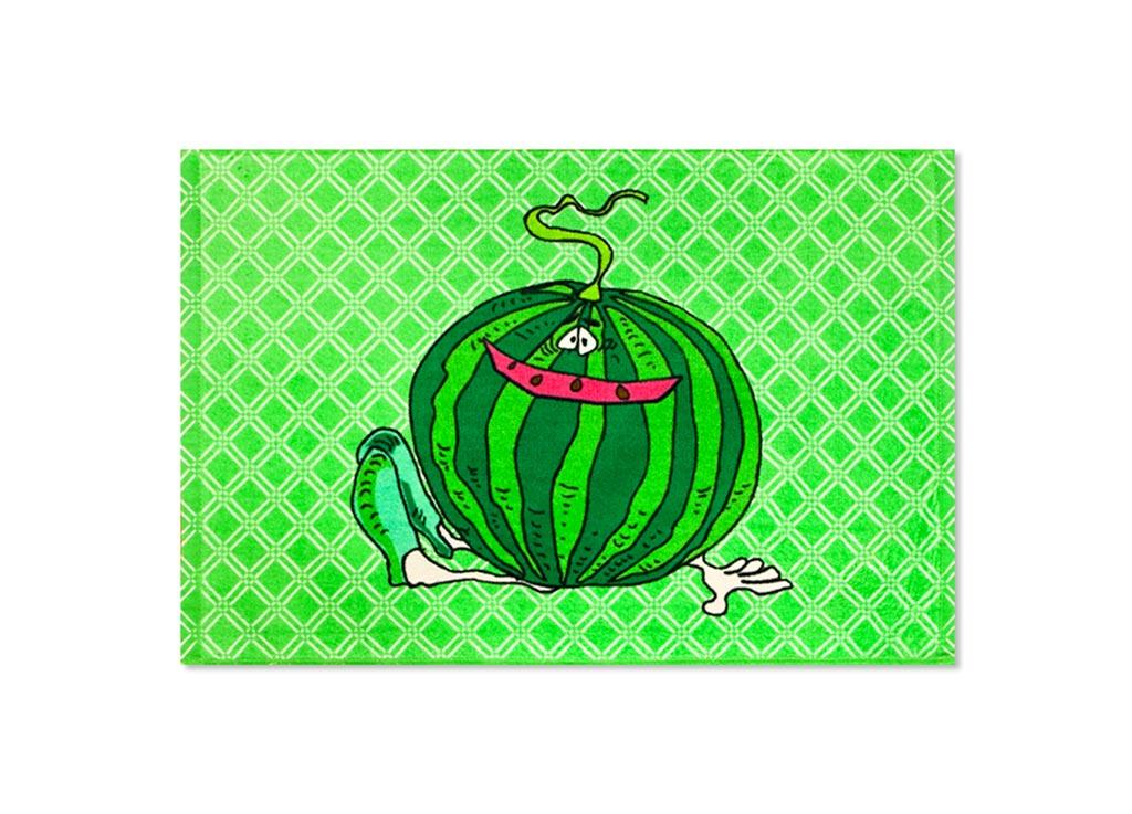 Полотенце Soavita Арбуз, 40х60 см, цвет: зеленый87533Перед использованием постирать при температуре не выше 40 градусов
