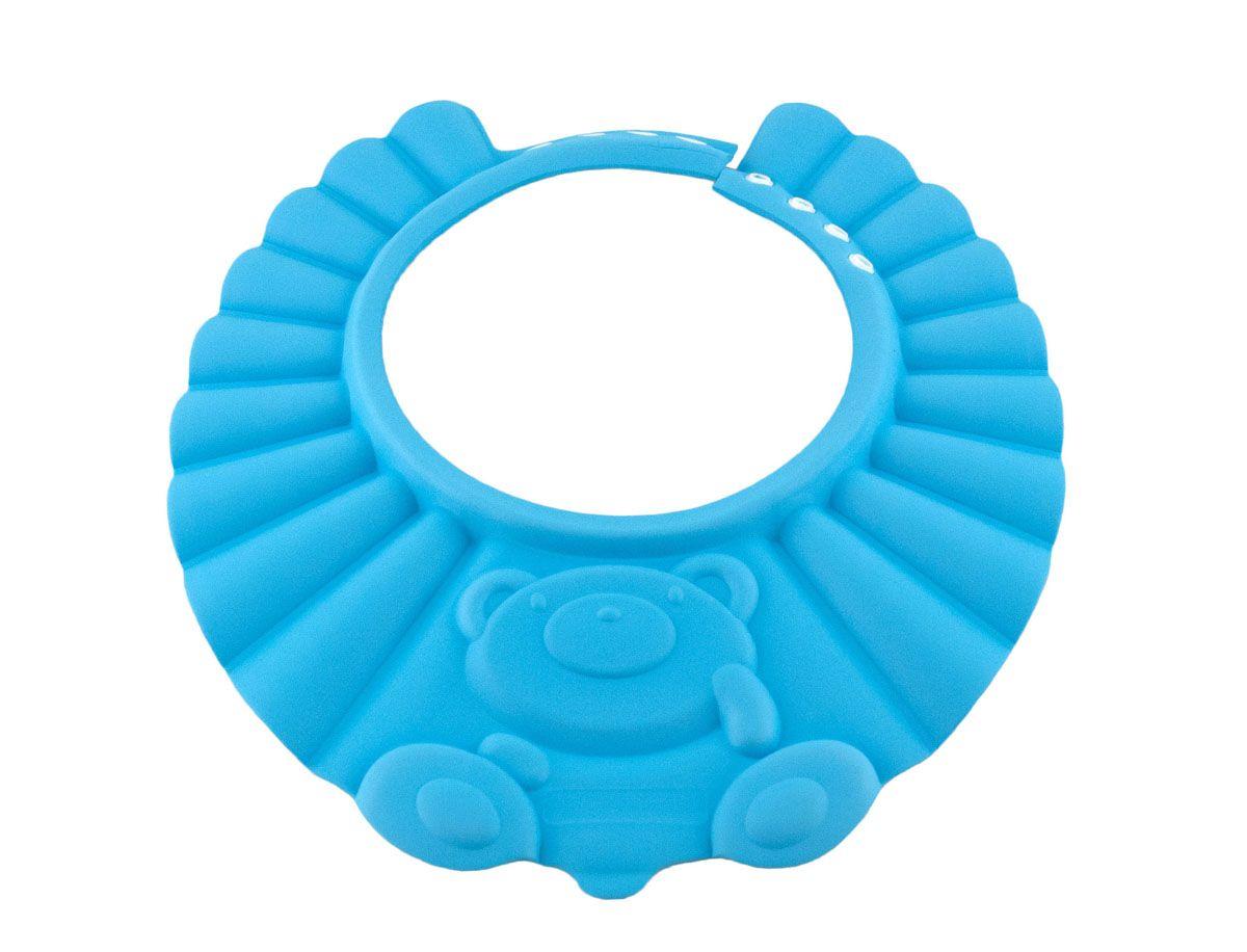 Baby Swimmer Детская шапочка-козырек для душа цвет голубой BS-SH01-D