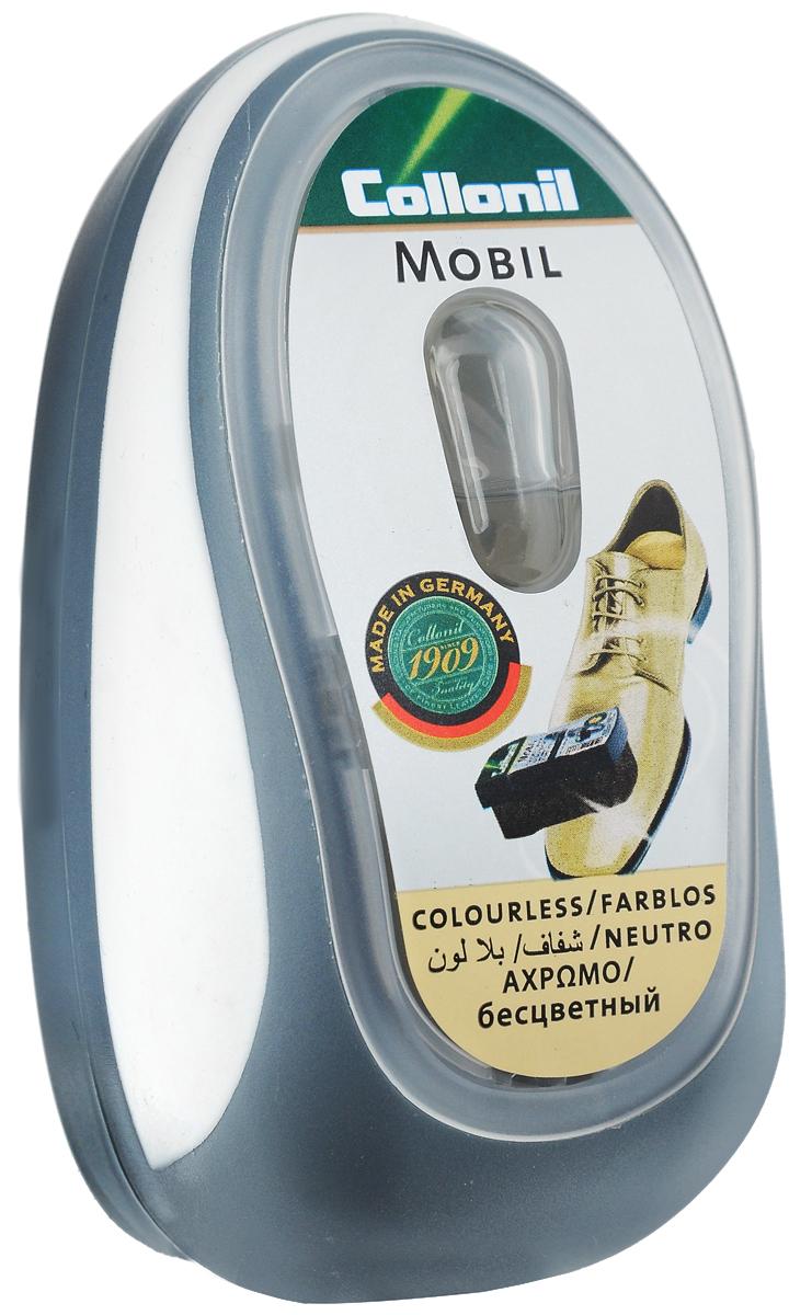 Губка для придания блеска обуви Collonil Mobil, цвет: бесцветный7410 050Губка Collonil Mobil предназначена для придания блеска и освежения цвета обуви и кожаной одежды. Удобная пластиковая коробка оснащена дозатором. Не требует полировки, максимальная эффективность сохраняется до 60 применений. Губка подходит для всех видов гладкой кожи. На крышке расположена резиновая вставка для удобного держания. Состав: пластик, резина, поролон, пропитка на основе силикона.