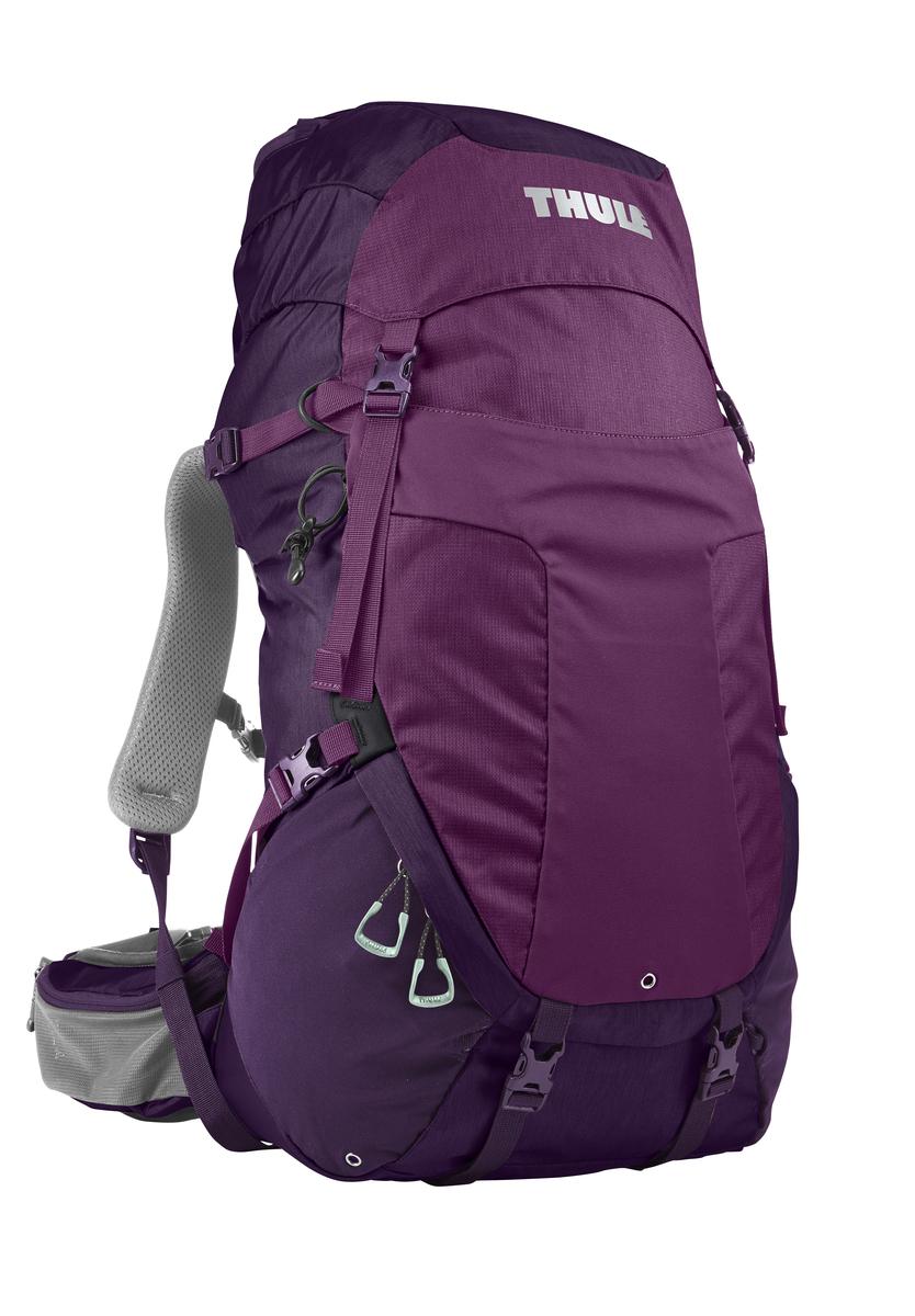 Рюкзак женский Thule Capstone, цвет: фиолетовый, 40л206903Женский рюкзак для пеших путешествий Thule Capstone 40 лЖенский рюкзак для пеших путешествий Thule Capstone 40 л Thule Capstone 40 л идеально подходит для однодневных путешествий или коротких походов. Рюкзак снабжен системой крепления MicroAdjust, которая обеспечивает максимальную регулировку для идеальной посадки, натягиваемой сеточной задней панелью для максимальной воздухопроницаемости и вшитой накидкой от дождя.