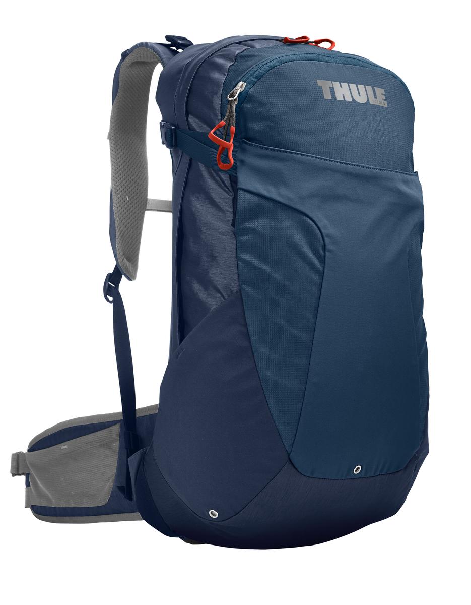 Рюкзак туристический женский Thule Capstone, цвет: темно-синий, 22 л. Размер XS/Sa026124Женский рюкзак Thule Capstone идеально подходит для однодневных путешествий или коротких походов. Рюкзак снабжен яркой накидкой от дождя и системой крепления MicroAdjust, которая обеспечивает максимальную регулировку для идеальной посадки. Сзади расположена натягиваемая сеточная панель для максимальной воздухопроницаемости. Рюкзак оснащен 1 вместительным отделением на застежке-молнии. Спереди имеется 2 кармана, один из которых на застежке-молнии. По бокам расположено 2 эластичных кармана. На набедренном ремне имеется 2 небольших кармана.