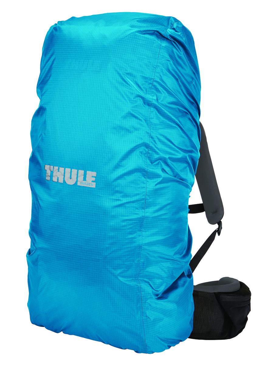 Влагозащитный чехол для рюкзака Thule 75-95, цвет: голубой208300Накидка от дождя для рюкзаков 75–95 л - Защита рюкзака от дождя при помощи универсальной накидки Thule Изготовлено из прочного нейлона (плотность волокна 70 ден) с водонепроницаемым полиуретановым покрытием и проклеенными швами для защиты от воды Специальный вшитый мешок для компактного хранения Эластичный ремень удерживает накидку от дождя при сильном ветре Шнурок для затягивания образует плотную петлю вокруг рюкзака для идеальной посадки Светоотражающий логотип обеспечивает вашу заметность в темное время суток Подходит для рюкзаков объемом 75–95 л