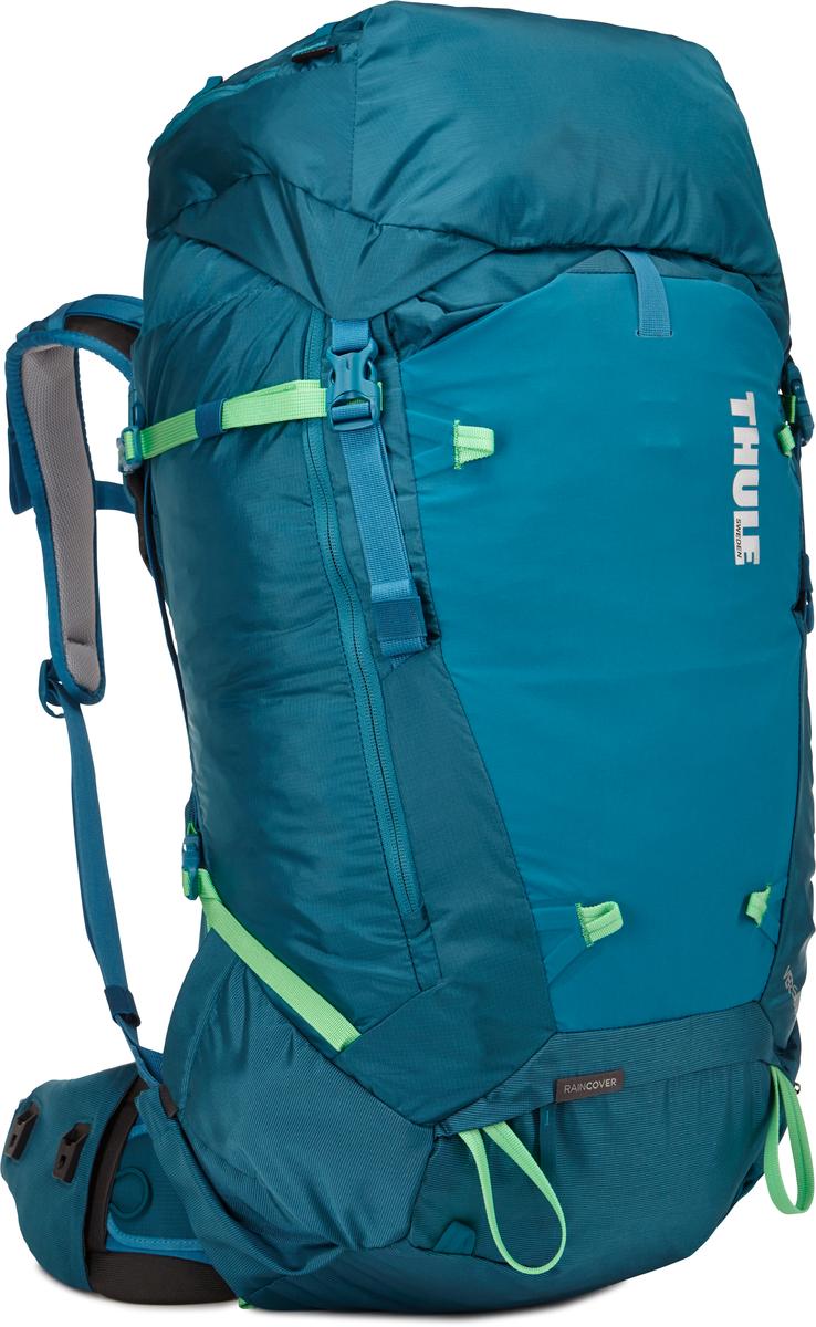 Рюкзак женский Thule Versant, цвет: синий, 60 л800802Женский туристический рюкзак Thule Versant 60 л - Обладающие идеальным размером рюкзаки для походов на 3–5 дней имеют дополнительные преимущества в виде регулируемого поясного ремня, легкодоступных карманов и верхнего клапана, который трансформируется в рюкзак с одной лямкой. Легко регулируется для идеальной посадки: по спине в пределах 12 см, поясной ремень — в диапазоне 10 смСъемный водонепроницаемый сворачивающийся карман VersaClick защищает снаряжение от непогоды Регулируемый поясной ремень совместим со взаимозаменяемыми аксессуарами VersaClick (продаются отдельно) Система StormGuard — это комбинация частичного дождевого чехла с водонепроницаемым нижним слоем для создания полностью защищенного от непогоды рюкзака Конструкция StormGuard обеспечивает удобный доступ к снаряжению, препятствует проникновению влаги и более надежна, чем обычный дождевой чехол Удобный доступ к боковым карманам даже при надетом дождевом чехле Верхняя крышка трансформируется в рюкзак с одной лямкой для горных прогулок Большая панель с подковообразной молнией обеспечивает удобный доступ Две петли-крепления для треккинговых палок или ледорубов Передний карман Shove-it Pocket для быстрого доступа