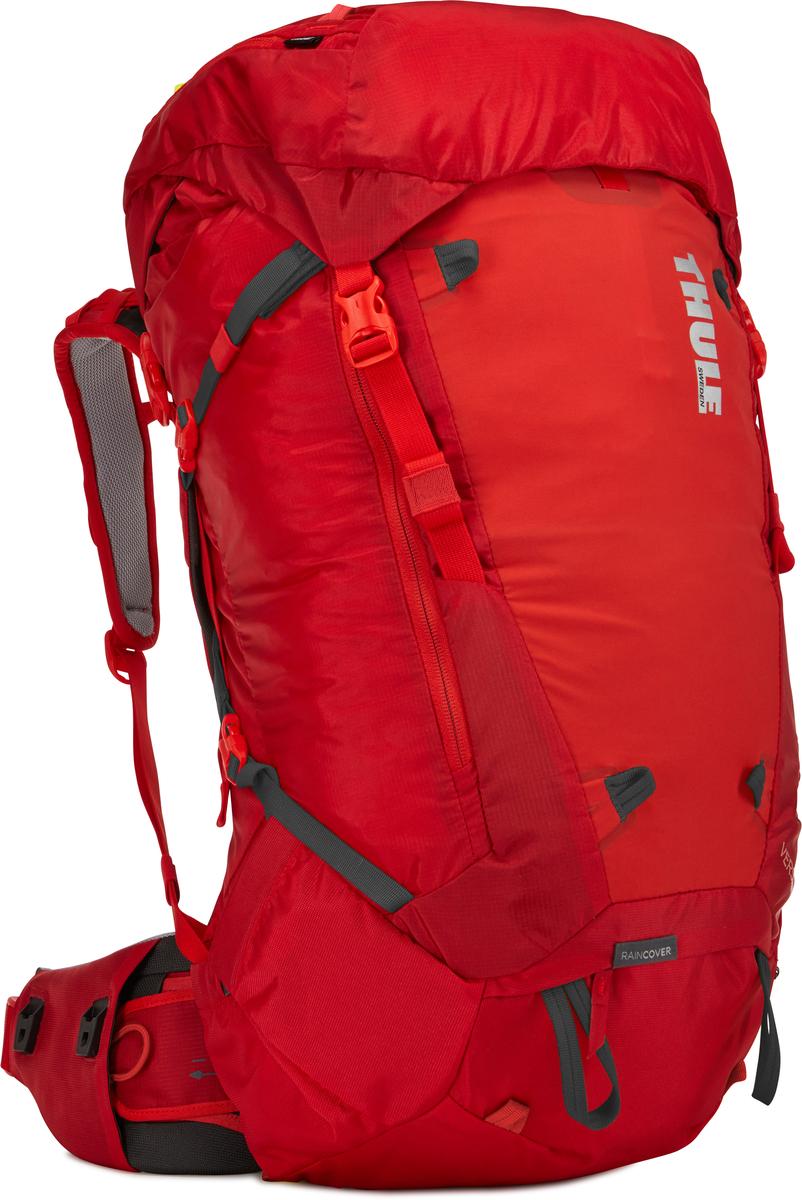 Рюкзак мужской Thule Versant, цвет: красный, 50л211300Мужской туристический рюкзак Thule Versant 50 л - Эти легкие рюкзаки обеспечивают необходимую вместительность, порядок и удобный доступ к снаряжению для походов с ночевкой. Легко регулируется для идеальной посадки: по спине в пределах 12 см, поясной ремень — в диапазоне 10 см Съемный водонепроницаемый сворачивающийся карман VersaClick защищает снаряжение от непогоды Регулируемый поясной ремень совместим со взаимозаменяемыми аксессуарами VersaClick (продаются отдельно) Система StormGuard — это комбинация частичного дождевого чехла с водонепроницаемым нижним слоем для создания полностью защищенного от непогоды рюкзака Конструкция StormGuard обеспечивает удобный доступ к снаряжению, препятствует проникновению влаги и более надежна, чем обычный дождевой чехол Удобный доступ к боковым карманам даже при надетом дождевом чехле Верхняя крышка трансформируется в рюкзак с одной лямкой для горных прогулок Большая панель с подковообразной молнией обеспечивает...