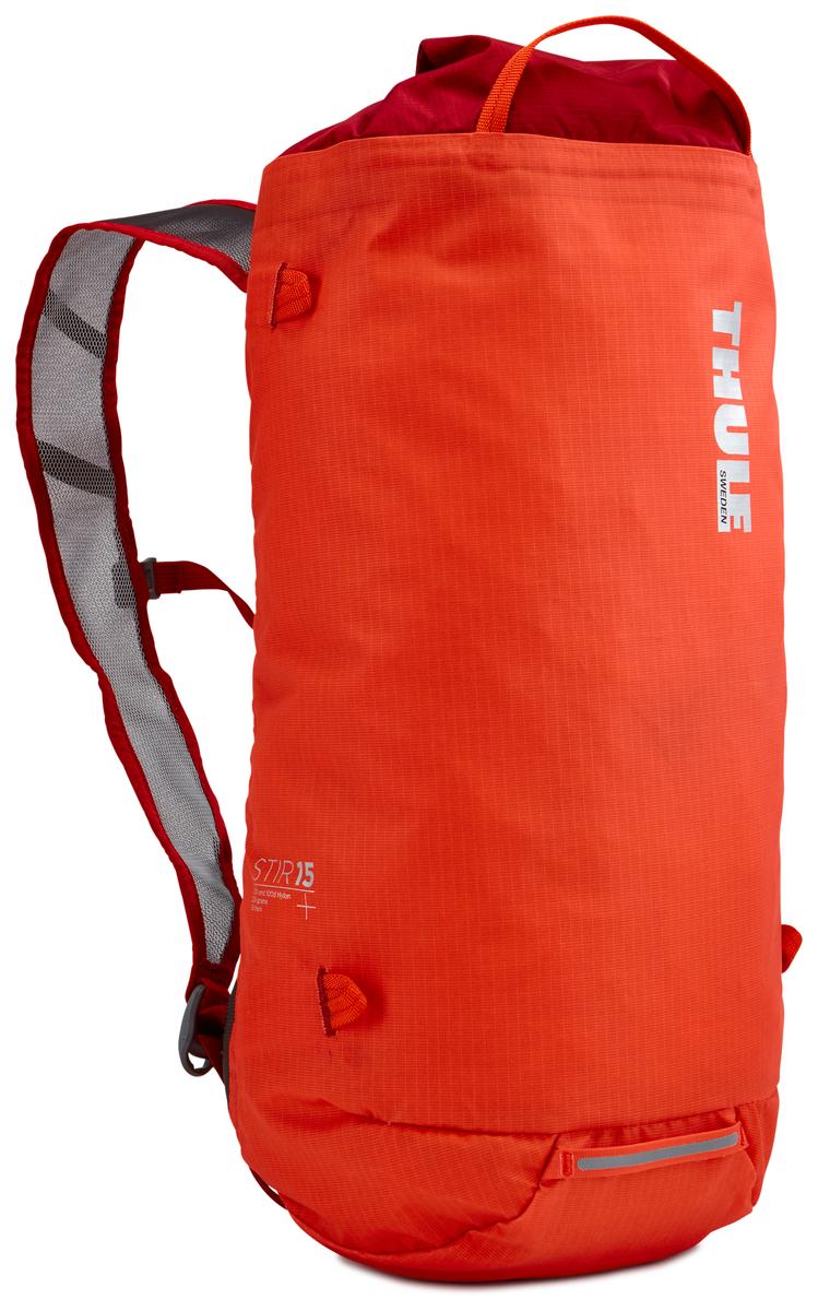 Рюкзак Thule Stir 15L Hiking Pack - Roarange, цвет: оранжевый, 15л211601Рюкзак для пеших путешествий Thule Stir 15 л - Рюкзак Stir 15 л — это идеальный вариант для коротких прогулок и городских вылазок, когда можно путешествовать налегке. Легкодоступная крышка с защитным откидным клапаном Съемный нагрудный ремень и поясной ремень, который можно спрятать за задней панелью при передвижении по городу Точка крепления петли для фонаря и светоотражающий материал Внутренний сетчатый карман для удобного хранения Встроенные точки крепления для установки снаряжения сверху с помощью строп Воздухопроницаемые задняя панель и наплечные ремни обеспечивают вентиляцию Конструкция, предназначенная для хранения воды, включает зажим для емкости с водой с отверстием для трубки (емкость продается отдельно)