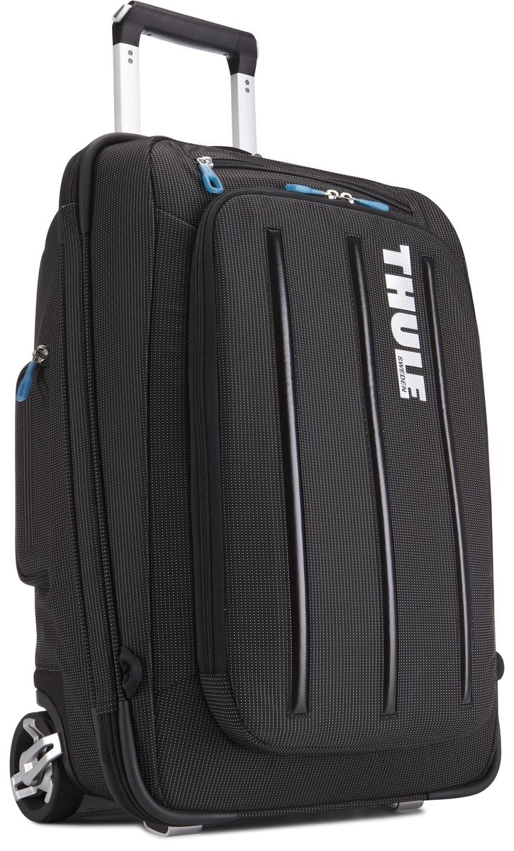 Чемодан-рюкзак Thule Crossover Rolling-On, на колесах, цвет: черный, 38л. TCRU1153201502Чемодан на колесах Thule Crossover 56 см - Мучаетесь вопросом, что купить — рюкзак или сумку на колесиках? Есть простой ответ: купите два в одном, вертикальную сумку на колесиках с убирающимися ремнями для переноски на плечах. Верхний карман с мягкой прокладкой подойдет для 15-дюймового MacBook Pro или ноутбука С помощью потайных ремней вы сможете легко и быстро надеть сумку на плечи. Колеса не касаются спины, когда сумка-тележка используется как рюкзак, что обеспечивает чистоту и комфорт во время путешествия. Облегченный, но прочный материал также является водостойким. Надежный экзоскелет и задняя обшивка из полипропилена обеспечат надежную защиту во время путешествий в самых сложных условиях. Крепкие колеса увеличенного размера и телескопические ручки с технологией Thule V-Tubing гарантируют мягкое, плавное и ровное движение в течение многих лет. Изготовленное по технологии горячей прессовки ударопрочное отделение SafeZone защитит ваши солнечные очки,...