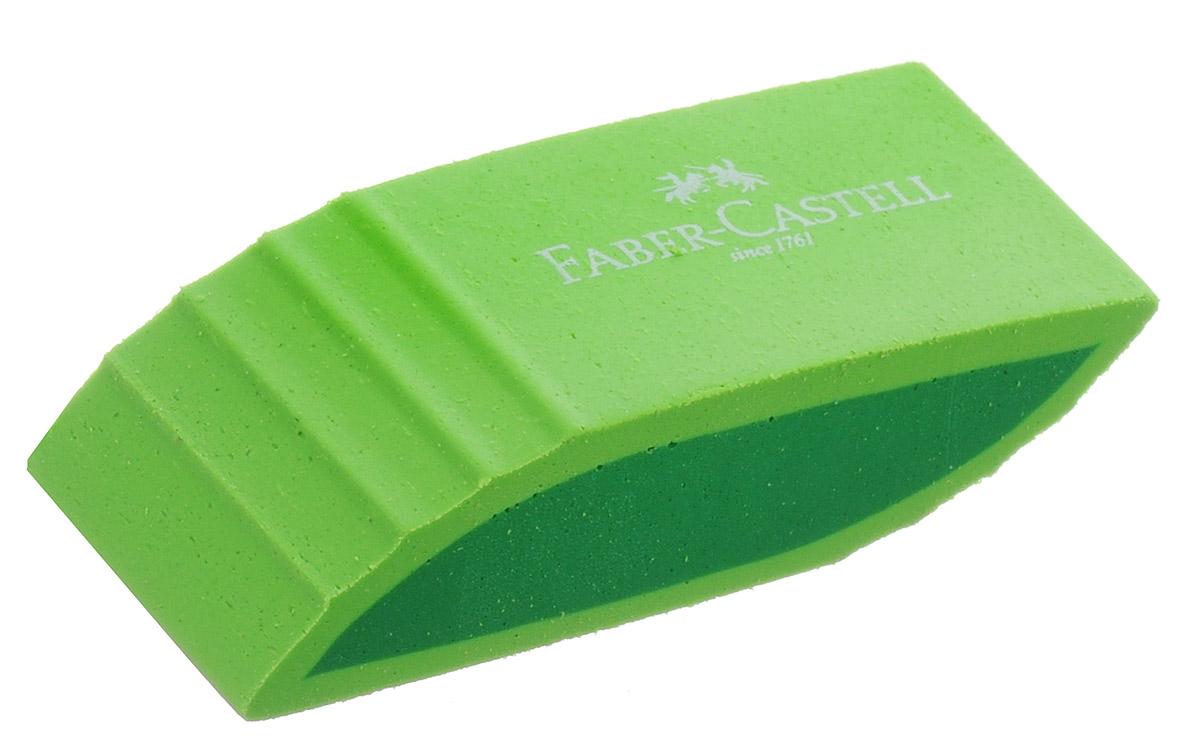 Faber-Castell Ластик фигурный цвет салатовый183057_салатовыйЛастик фигурный Faber-Castell станет незаменимым аксессуаром на рабочем столе не только школьника или студента, но и офисного работника. Аккуратный, не оставляет грязных разводов. Не повреждает бумагу даже при многократном стирании. Кроме того, высококачественный ластик не содержит ПВХ.