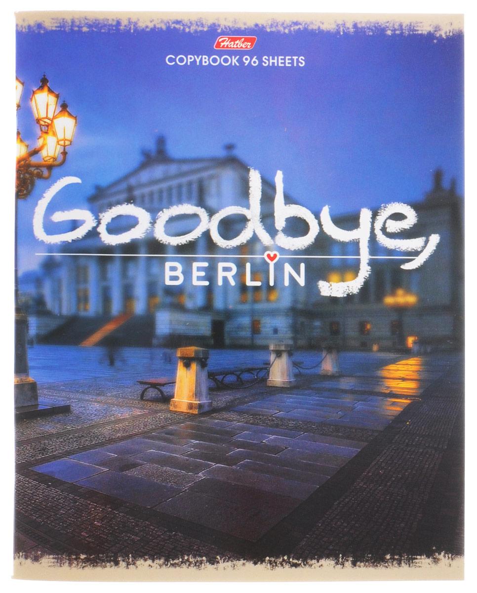Hatber Тетрадь Goodbye Berlin 96 листов в клетку 96Т5В1_15049