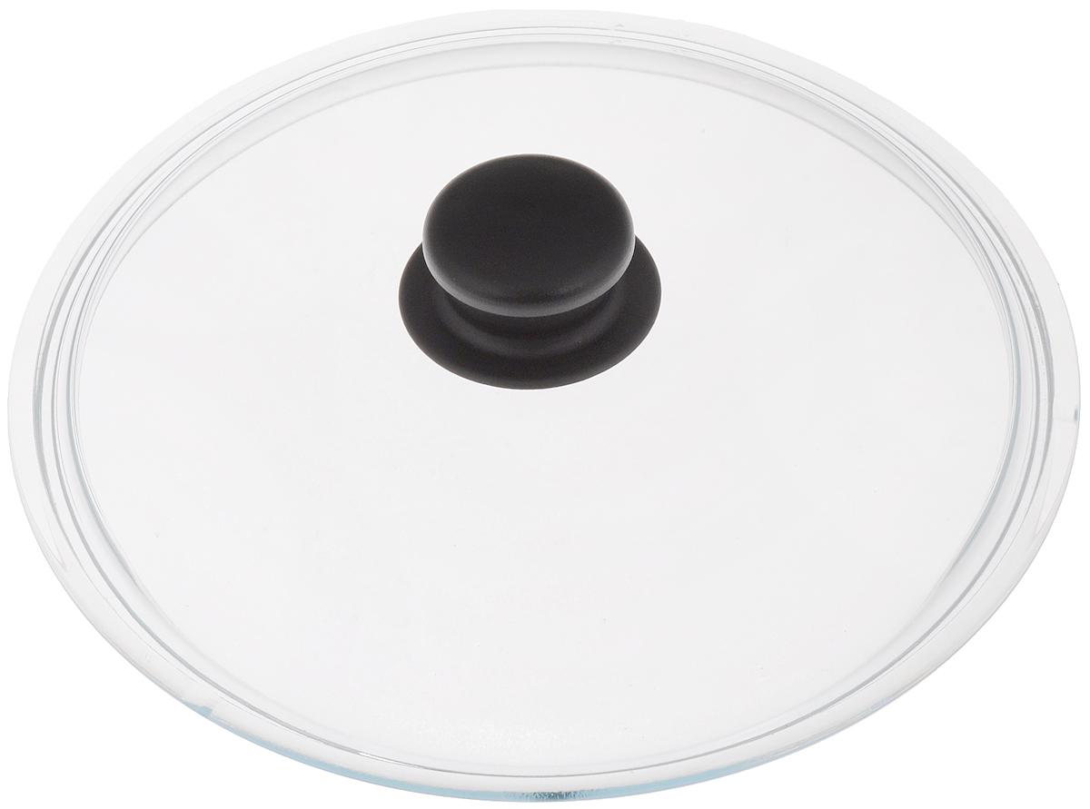 Крышка стеклянная VGP Катюша. Диаметр 24 смфн240Крышка VGP Катюша изготовлена из жаропрочного стекла. Ручка, выполненная из термостойкого пластика, защищает ваши руки от высоких температур. Крышка удобна в использовании и позволяет контролировать процесс приготовления пищи. Можно мыть в посудомоечной машине.