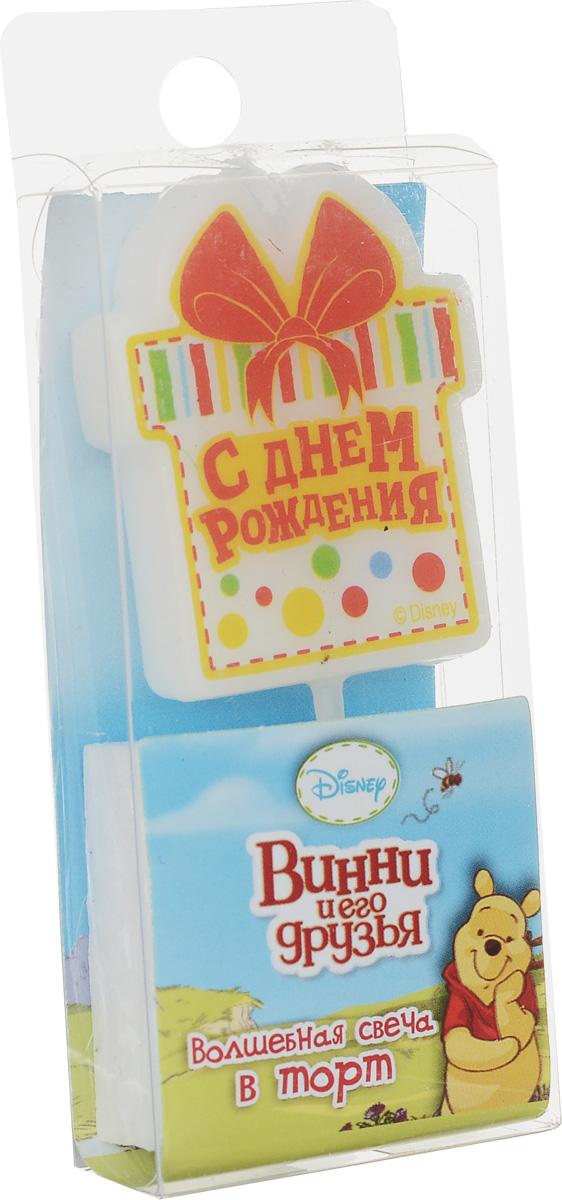 Disney Свеча для торта С днем рождения Винни и его друзья