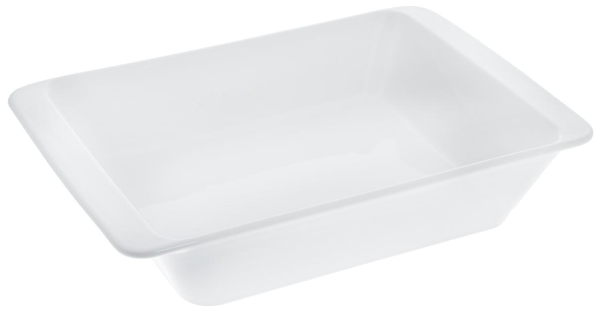 Форма для запекания Tescoma Gusto, прямоугольная, 32 х 20 см622016Прямоугольная форма Tescoma Gusto, выполненная из высококачественной керамики, отлично подходит для выпечки, запекания, сервировки и хранения блюд. Пригодна для всех типов духовок, холодильников и морозильников. Можно мыть в посудомоечной машине. Выдерживает температуру от -18°С до +240°С. Внутренний размер формы: 27 х 19,5 см. Внешний размер формы: 32 х 20 см. Высота стенки: 6,2 см.