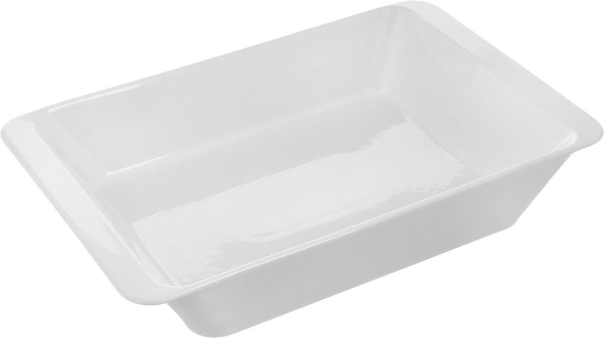 Форма для запекания Tescoma Gusto, прямоугольная, 40 х 25 см622018Прямоугольная форма Tescoma Gusto, выполненная из высококачественной керамики, отлично подходит для выпечки, запекания, сервировки и хранения блюд. Пригодна для всех типов духовок, холодильников и морозильников. Можно мыть в посудомоечной машине. Выдерживает температуру от -18°С до +240°С. Внутренний размер формы: 34 х 24 см. Внешний размер формы: 40 х 25 см. Высота стенки: 8,5 см.