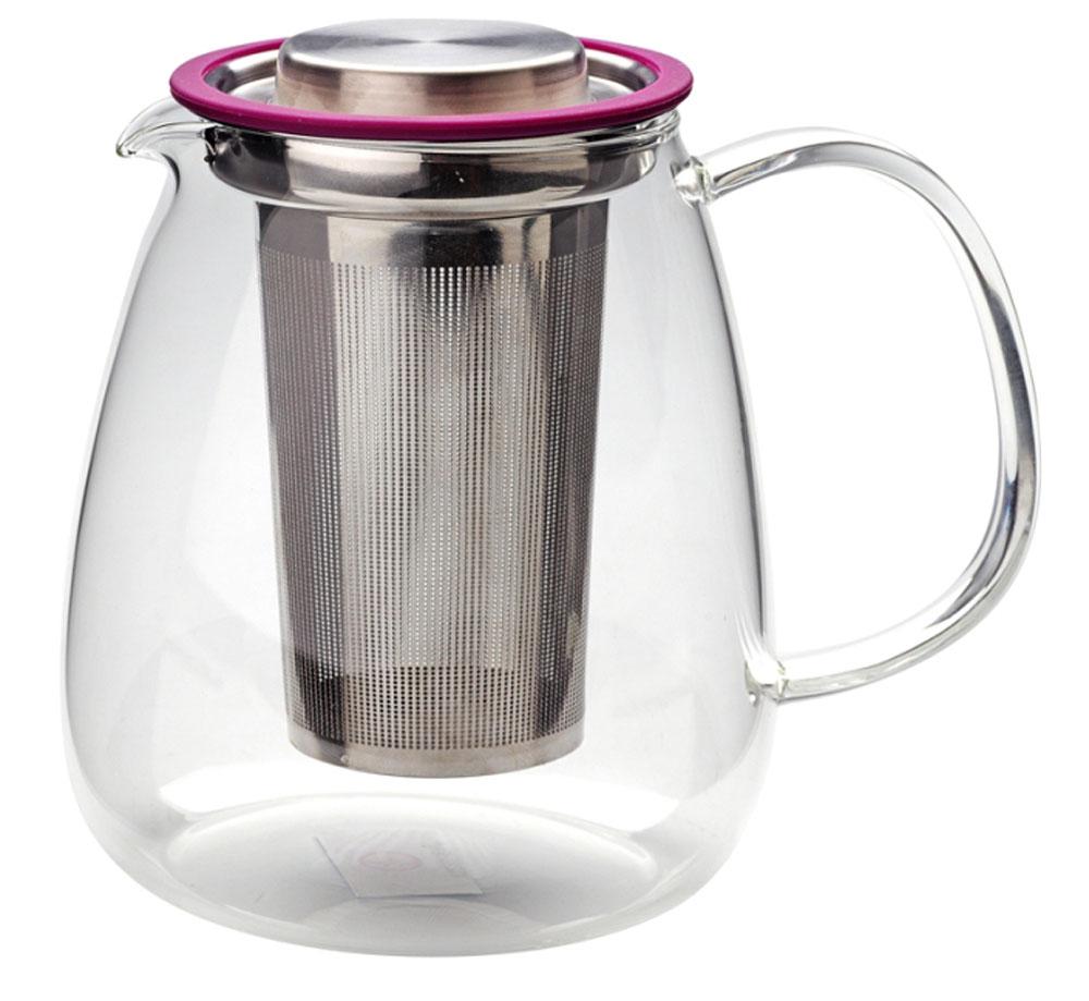 Чайник заварочный Augustin Welz, 0,9 л94672Чайник имеет ситечко из высококачественной нержавеющей стали марки 18/8. Специальная конструкция крышки позволяет установить в нее ситечко с заваркой после приготовления напитка.