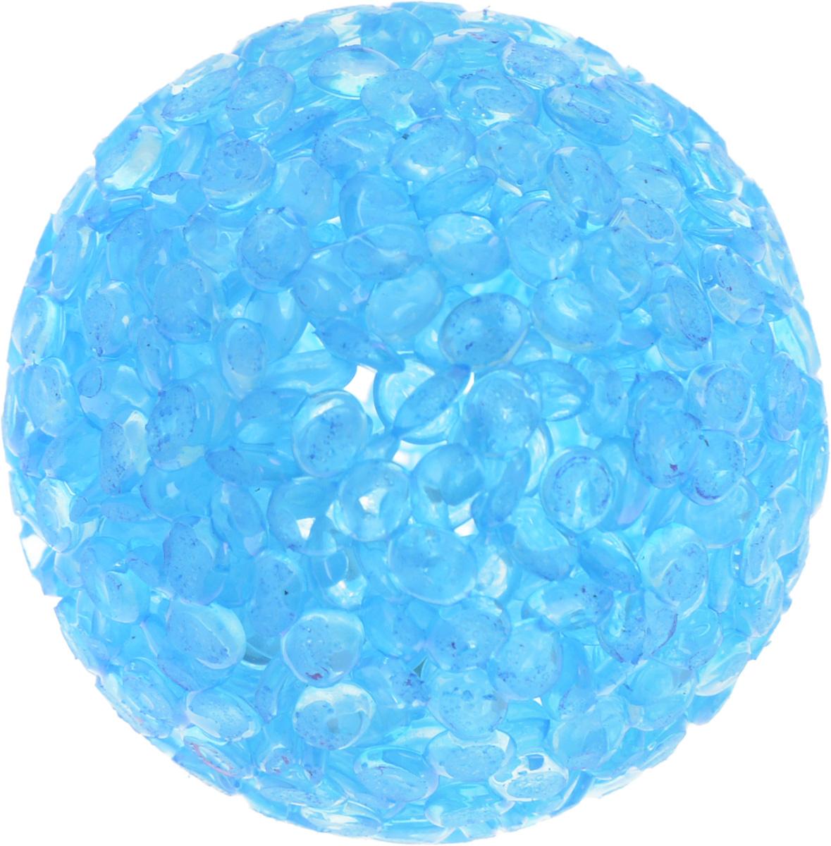 Игрушка для животных Каскад Мячик блестящий, цвет: голубой, диаметр 4 см27799314Игрушка для животных Каскад Мячик блестящий изготовлена из высококачественной синтетики. Внутри изделия имеется небольшой бубенчик, который привлечет внимание питомца. Такая игрушка порадует вашего любимца, а вам доставит массу приятных эмоций, ведь наблюдать за игрой всегда интересно и приятно. Диаметр игрушки: 4 см.