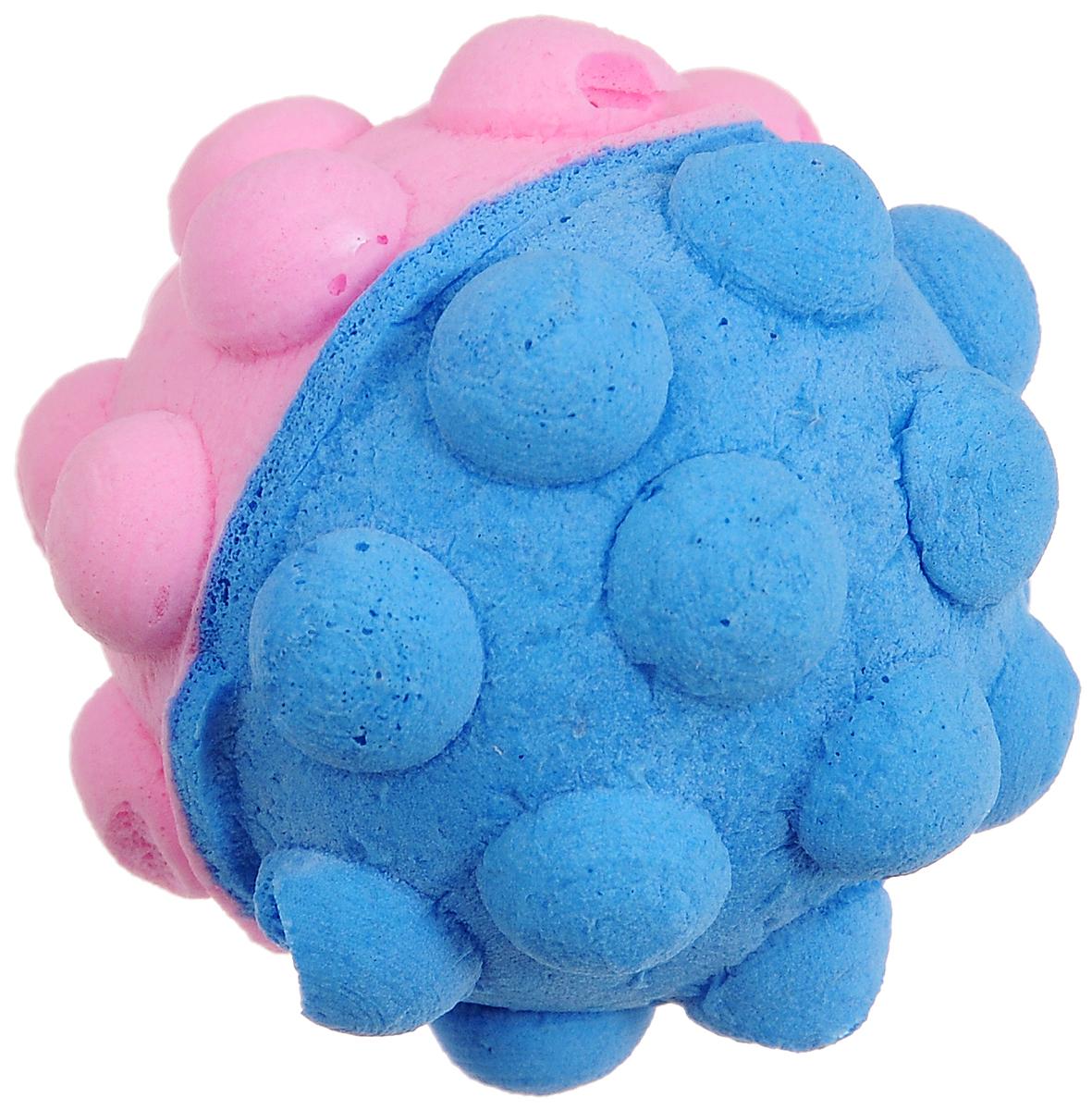 Игрушка для животных Каскад Мячик зефирный. Мина, цвет: голубой, розовый, диаметр 4,5 см27799309_голубой, розовыйМягкая игрушка для животных Каскад Мячик зефирный. Мина изготовлена из вспененного полимера. Такая игрушка порадует вашего любимца, а вам доставит массу приятных эмоций, ведь наблюдать за игрой всегда интересно и приятно. Диаметр игрушки: 4,5 см.