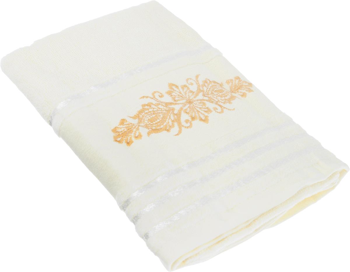Полотенце Arya Mondo, цвет: молочный, 50 х 100 смF0003547_молочныйПолотенце Arya Mondo выполнено из 100% хлопка. Изделие отлично впитывает влагу, быстро сохнет, сохраняет яркость цвета и не теряет форму даже после многократных стирок. Такое полотенце очень практично и неприхотливо в уходе. Оно создаст прекрасное настроение и украсит интерьер в ванной комнате.