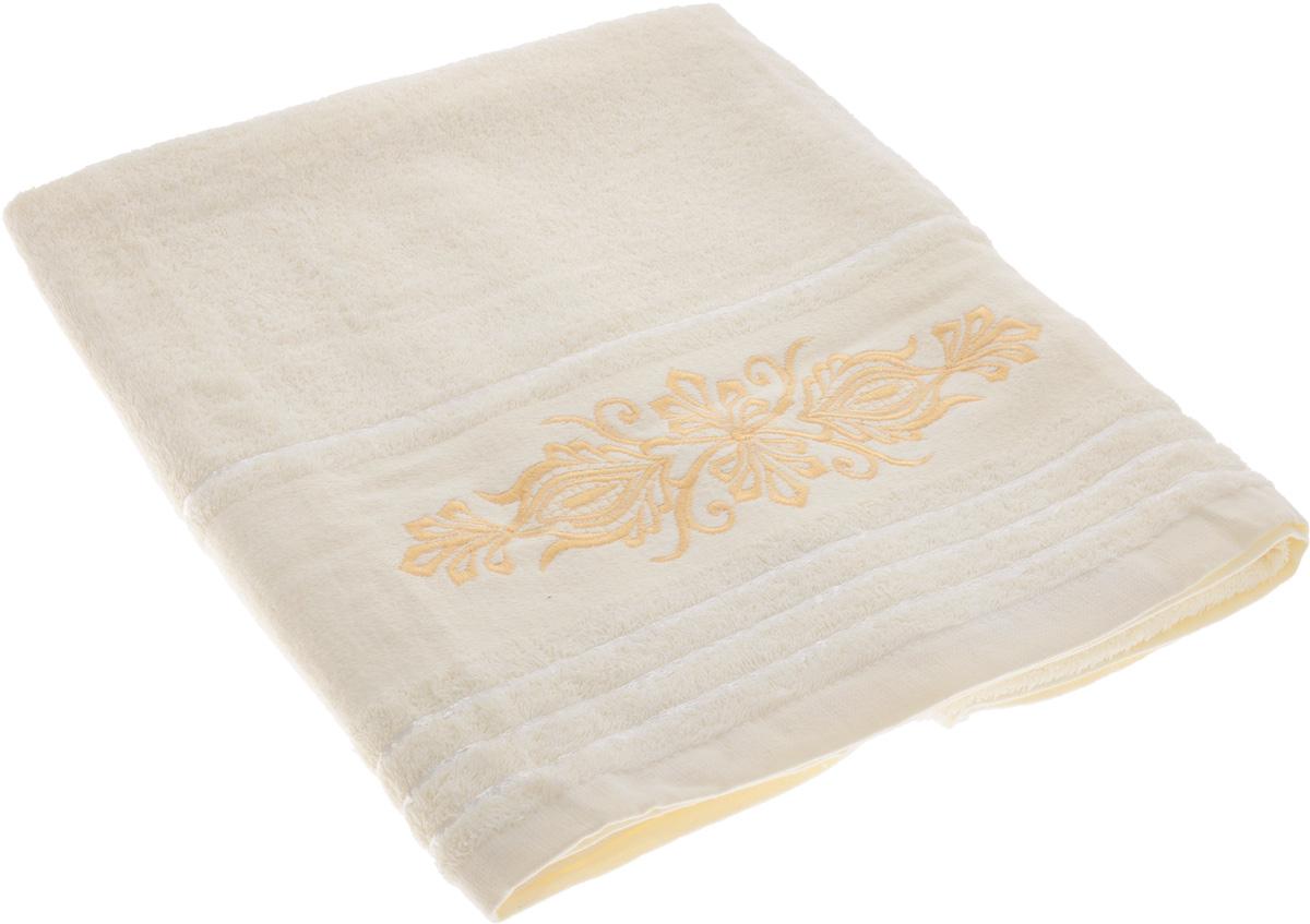 Полотенце Arya Mondo, цвет: молочный, 70 х 140 смS03301004Полотенце Arya Mondo выполнено из 100% хлопка. Изделие отлично впитывает влагу, быстро сохнет, сохраняет яркость цвета и не теряет форму даже после многократных стирок. Такое полотенце очень практично и неприхотливо в уходе. Оно создаст прекрасное настроение и украсит интерьер в ванной комнате.