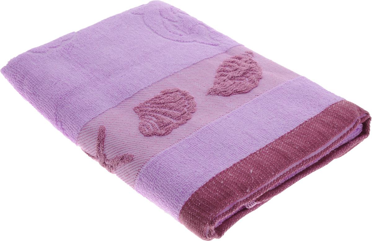 Полотенце Arya Marito, цвет: пурпурный, 50 х 100 см68/5/2Полотенце Arya Marito выполнено из 100% хлопка. Изделие отлично впитывает влагу, быстро сохнет, сохраняет яркость цвета и не теряет форму даже после многократных стирок. Такое полотенце очень практично и неприхотливо в уходе. Оно создаст прекрасное настроение и украсит интерьер в ванной комнате.